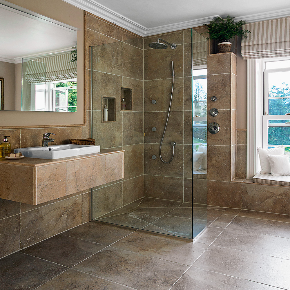 A n property solutions bathrooms for Bathroom wet room designs